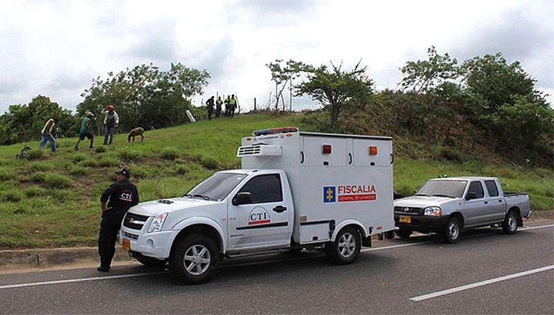 La policía halló un cuerpo desmembrado en zona rural de Quimbaya