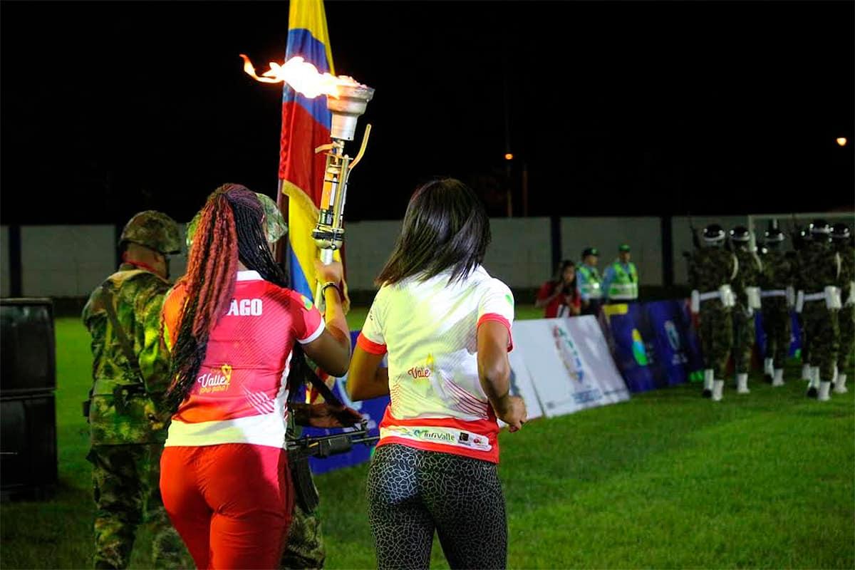 Desde Cartago sale el Fuego Deportivo de los Juegos Departamentales