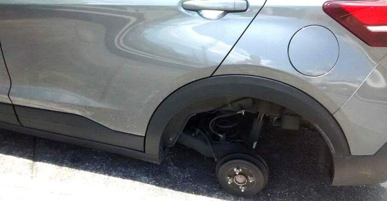Están robando llantas a vehículos en Manizales