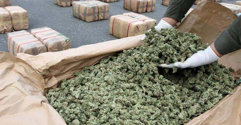 Incautaron más de cuatro toneladas de marihuana en el sector del peaje de Cerritos