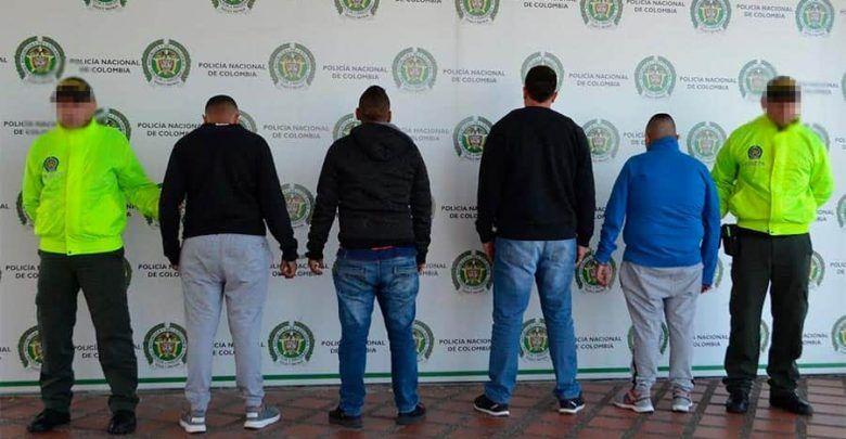 """Capturados 4 presuntos miembros de la banda delincuencial """"Los del Balso"""""""