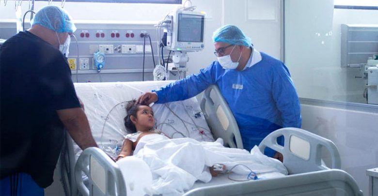 Realizan la primera cirugía pediátrica en Hospital San Jorge de Pereira y salvan vida a niña de 3 años
