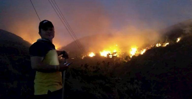 Recompensas entre 5 y 10 millones de pesos por responsables de incendios forestales