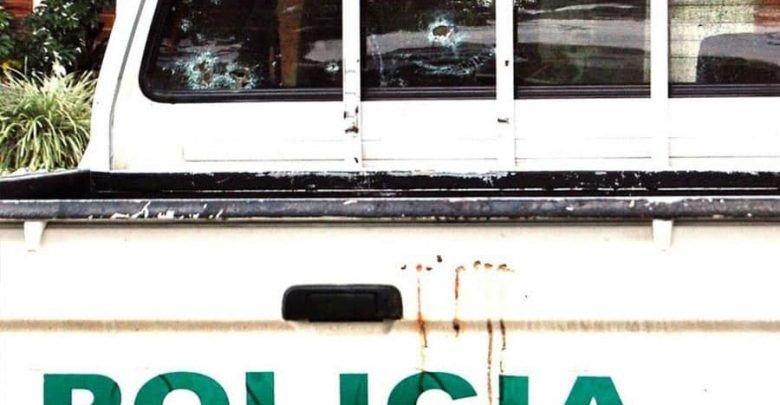 Capturan a dos hombres por disparar a patrulla de Policía en Dosquebradas