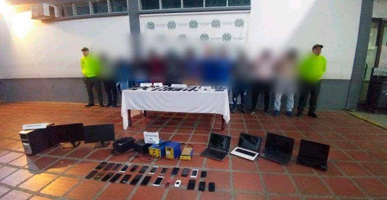 """Desmantelan en Cali red que """"blanqueaba"""" celulares robados"""
