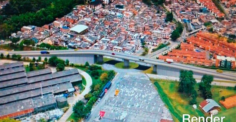 Construcción de puente vehicular en Dosquebradas inicia obras en noviembre