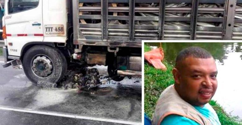 Accidente en la vía Tuluá – Andalucía deja una persona muerta