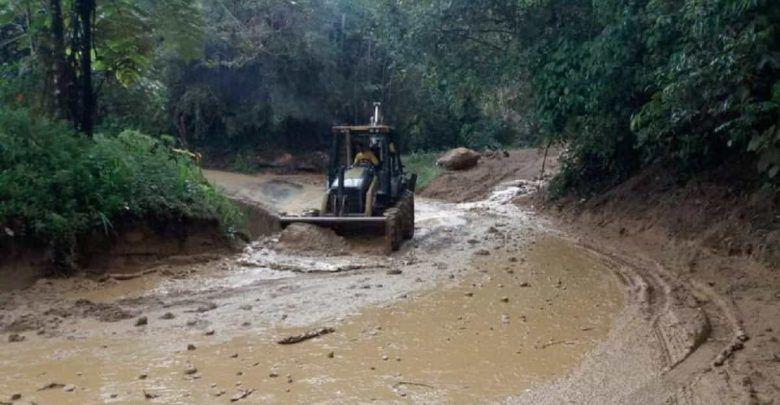 Se han producido más de 80 deslizamientos de tierra en Caldas debido a las lluvias