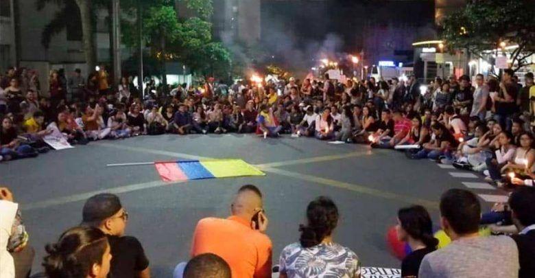 Estudiantes de la UTP marchan de manera pacífica en Pereira