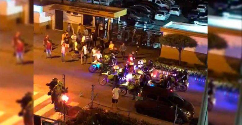 Intentos de asalto durante toque de queda en Cali