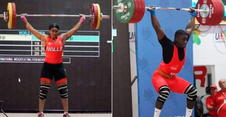 Los cartagüeños Valeria y Jhonatan Rivas obtienen 5 oros en los Juegos Nacionales