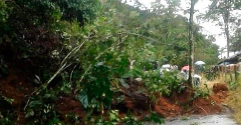 Varios municipios de Risaralda están en alerta por  deslizamientos