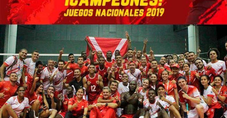 ¡Valle campeón! de los Juegos Nacionales Bolívar 2019