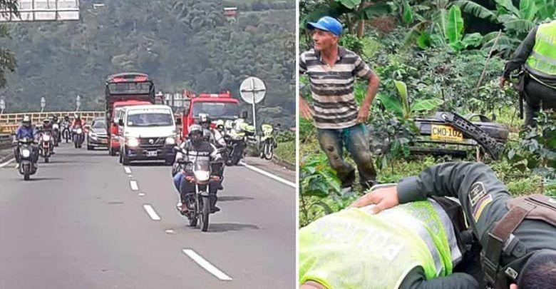 Mujer falleció en accidente en el puente Helicoidal