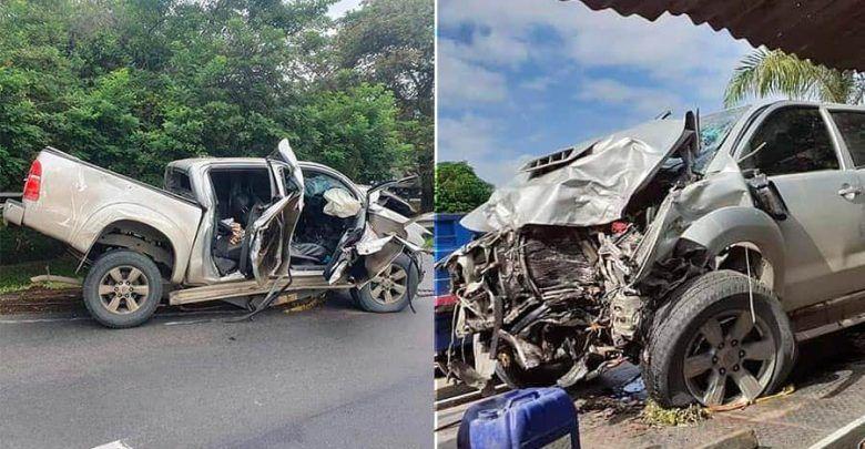Tres personas fallecieron en accidente en la vía Andalucía – El Cerrito