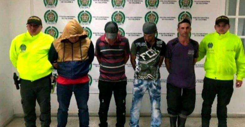 Cuatro capturados por triple homicidio en el norte del Valle