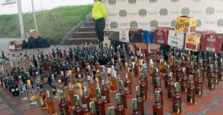 En vísperas de navidad incautan licor de contrabando en Pereira