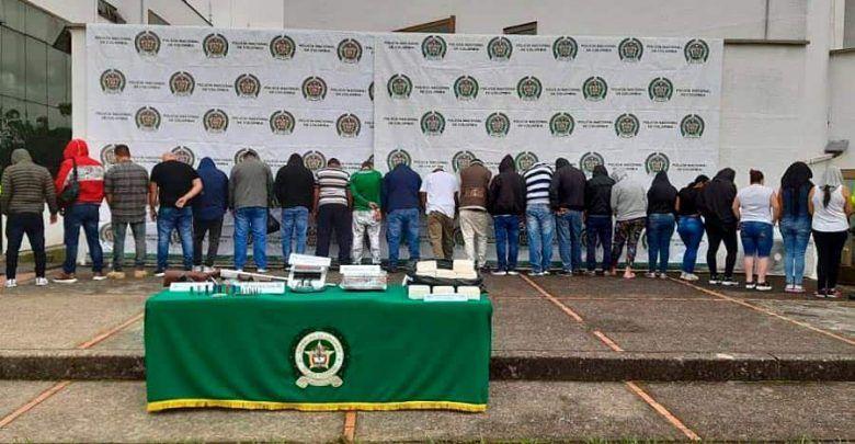 """Cayeron """"Los Pesados"""", dedicados a la producción y venta de narcóticos en Valle y Eje Cafetero"""