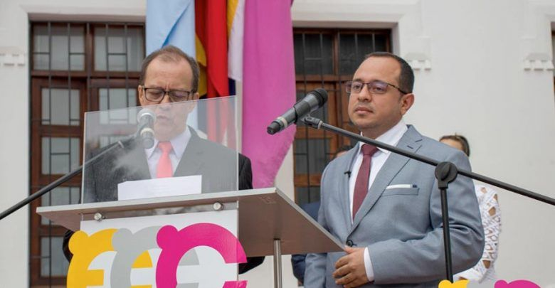 Víctor Alfonso Álvarez Mejía, se posesionó como nuevo alcalde de Cartago