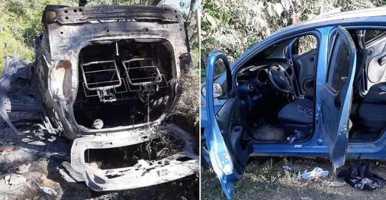 Masacre en Jamundí: cinco muertos y carros incinerados