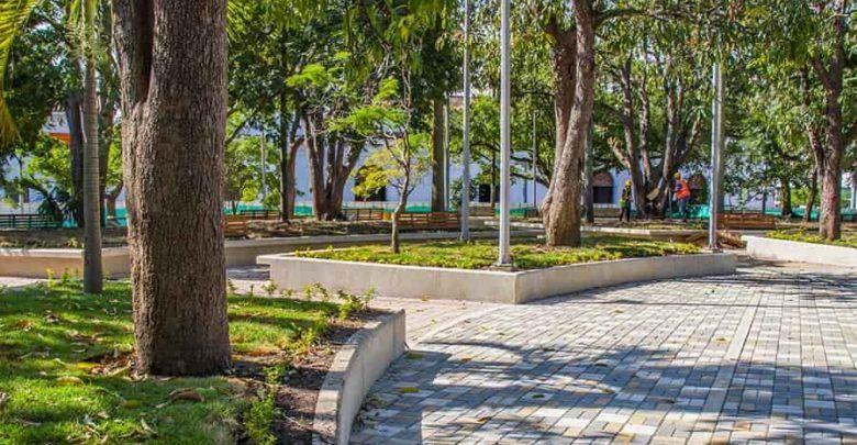 Gran apertura del Parque de Bolívar de Cartago