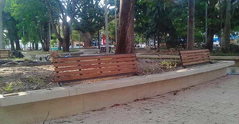 Alcalde de Cartago exigirá que obras del parque Bolívar se entreguen de acuerdo al contrato