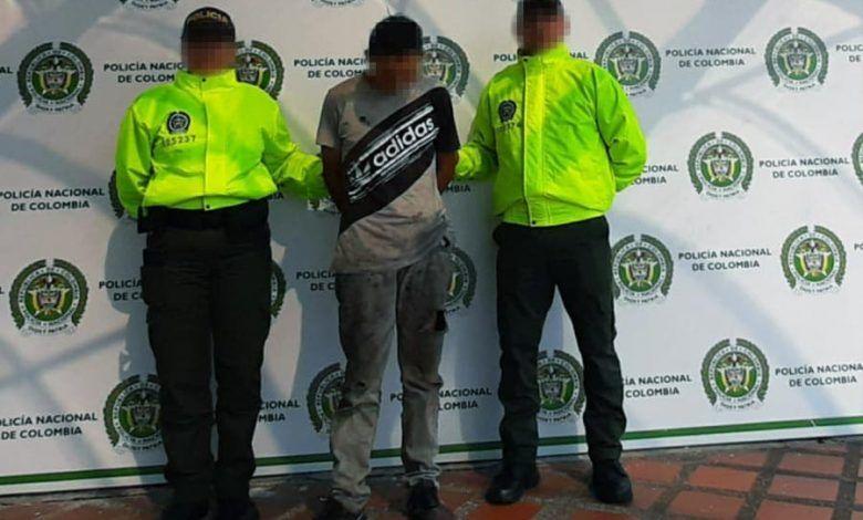 Capturado en Puerto Caldas presunto homicida de patrullero de la policía