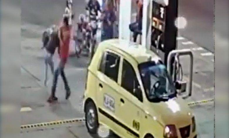 Mujer fue golpeada por un taxista en Cartago
