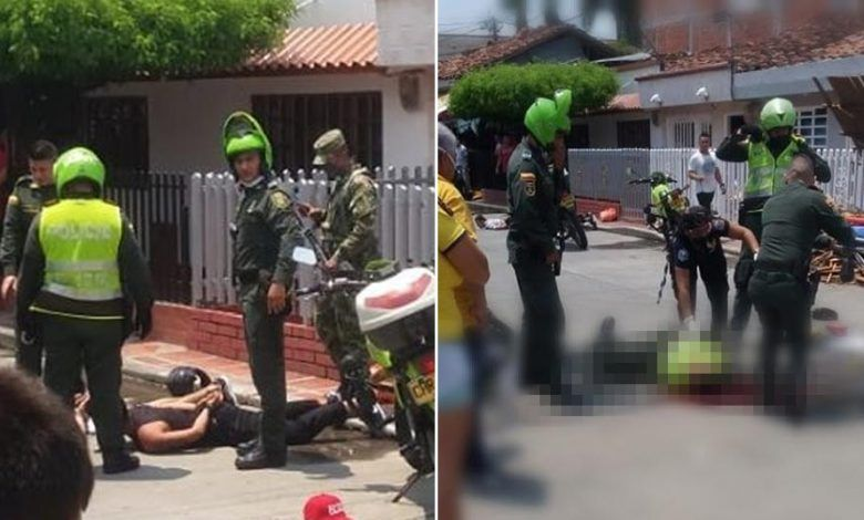 Policía recibe disparo en el rostro cuando realizaba un operativo en Zarzal