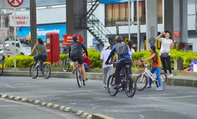 Vía Activa de Pereira regresa este domingo a la avenida 30 de Agosto