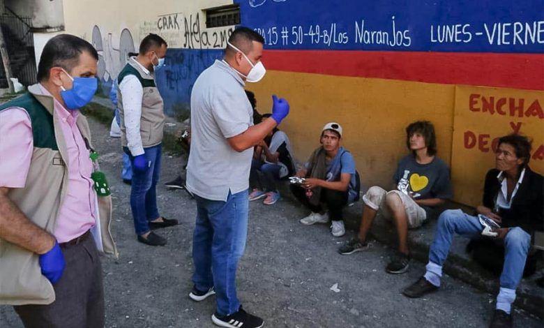 Con brigadas de atención humanitaria en diferentes barrios y comunas de Dosquebradas