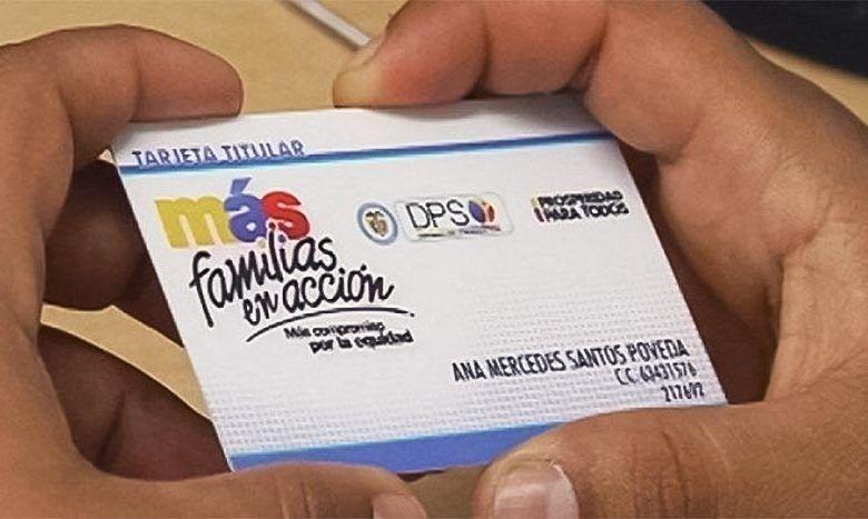 Photo of Pico y cédula para pagos a beneficiarios de Familias en Acción en Cartago