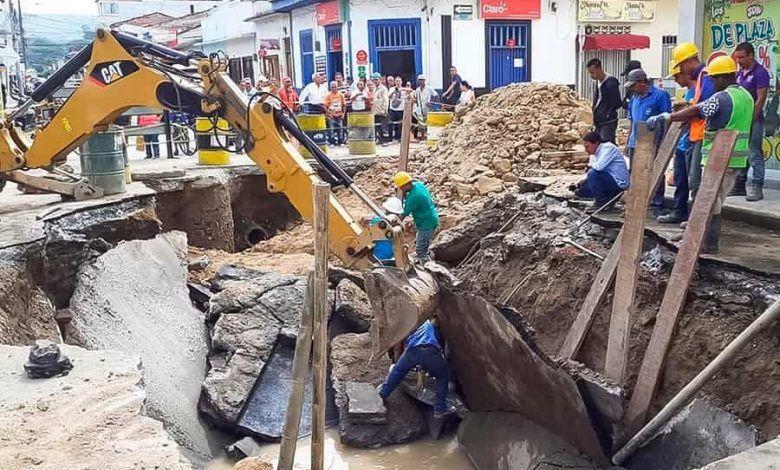 Alcalde de Cartago solicitó claridad sobre terminación de la obra de la 4ª con 4ª