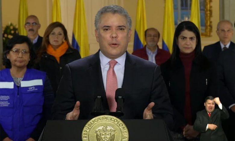 Colombia entrará en cuarentena total desde este miércoles