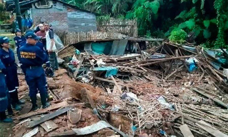 Madre e hijo mueren al colapsar vivienda en Trujillo