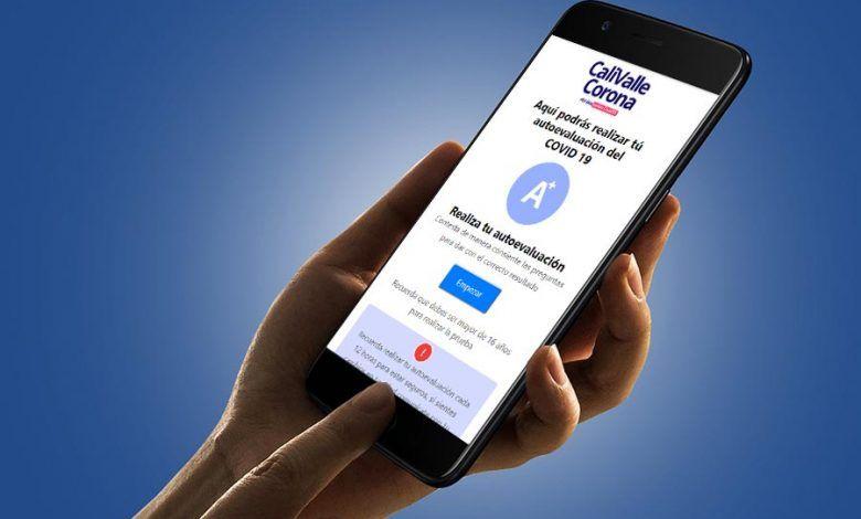 Photo of 'CaliValleCorona': la App que permite realizar una autoevaluación sobre Covid-19