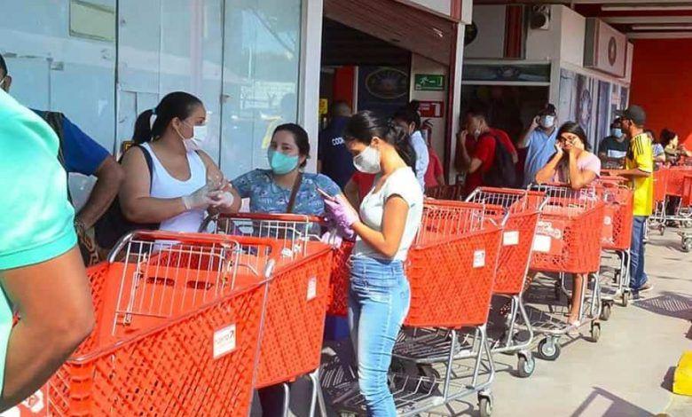 Photo of Pico y cédula en Cali para compra de alimentos