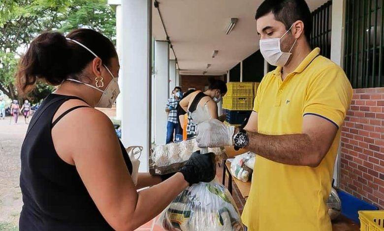 Se dio inicio a la entrega de raciones alimenticias del PAE en Cartago