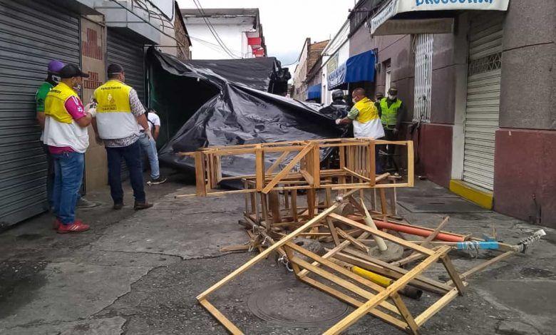 Realizan operativos en Cartago para recuperar el espacio público