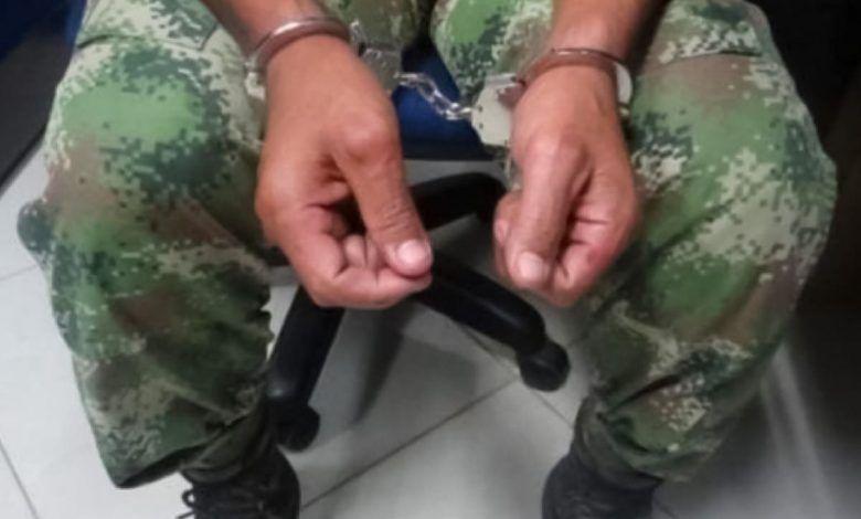 Capturan a soldado por ingresar marihuana al Batallón Vencedores de Cartago
