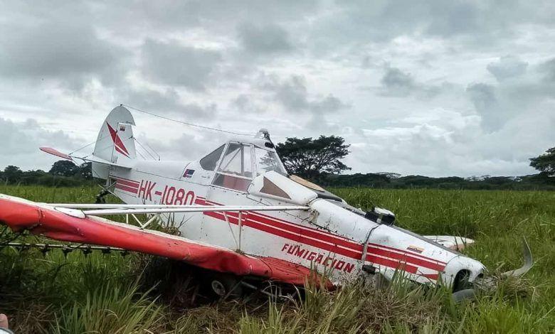 Avioneta se accidentó al despegar del aeropuerto Santa Ana de Cartago