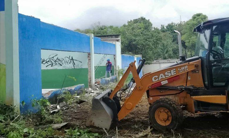 Iniciaron obras de demolición del antiguo Hogar Infantil Santa Isabel
