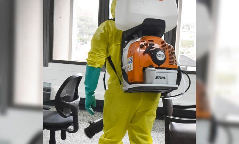 Empresas de servicios de desinfección en Risaralda, no están avaladas