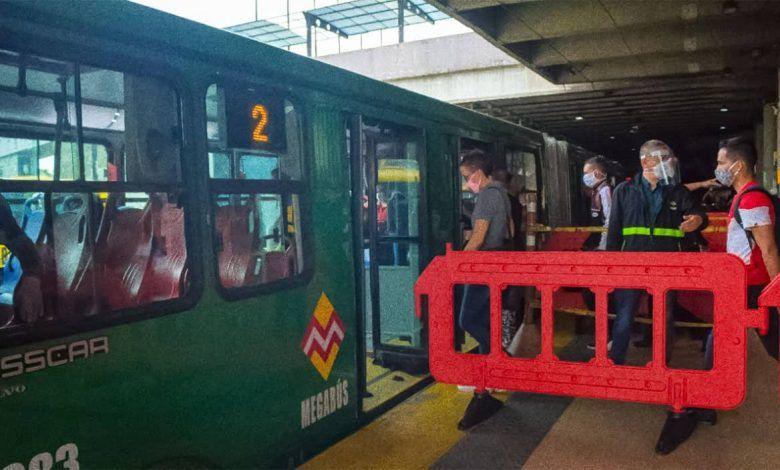 Crisis en Megabús por millonarias pérdidas