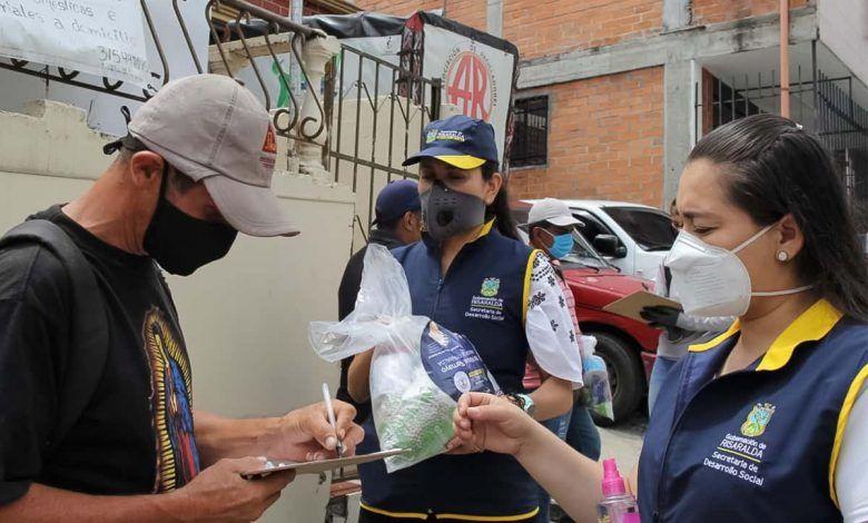 Recicladores de Pereira y Dosquebradas reciben ayudas alimentarias
