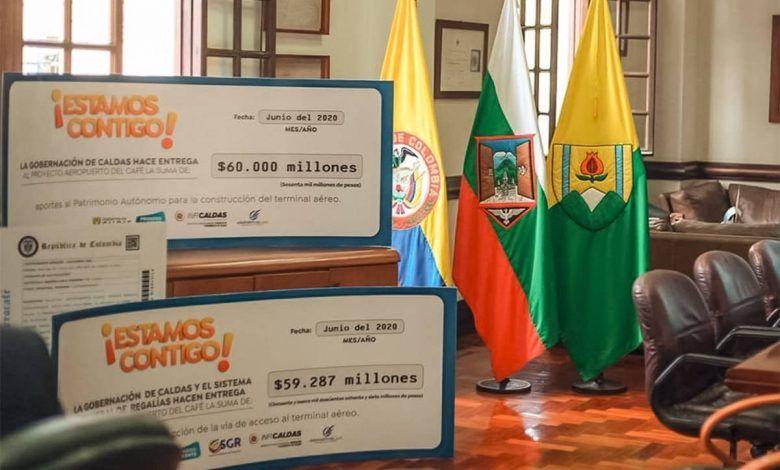 $120 mil millones entregó la gobernación de Caldas a Aerocafé