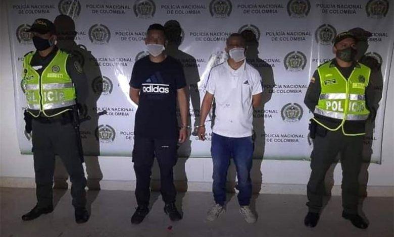 Un cartagüeño y un bogotano capturados por secuestro en la Costa Caribe
