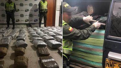 Incautan 250 kilos de marihuana en zona rural de La Victoria