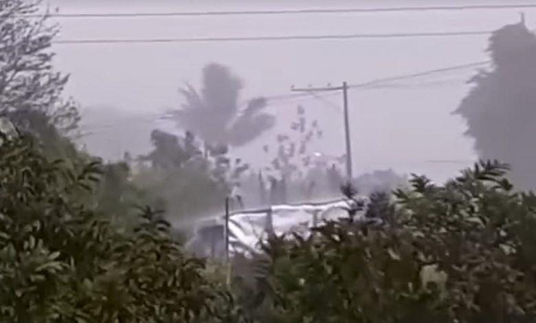 Daños materiales y afectaciones ambientales dejó el aguacero del sábado en Cartago