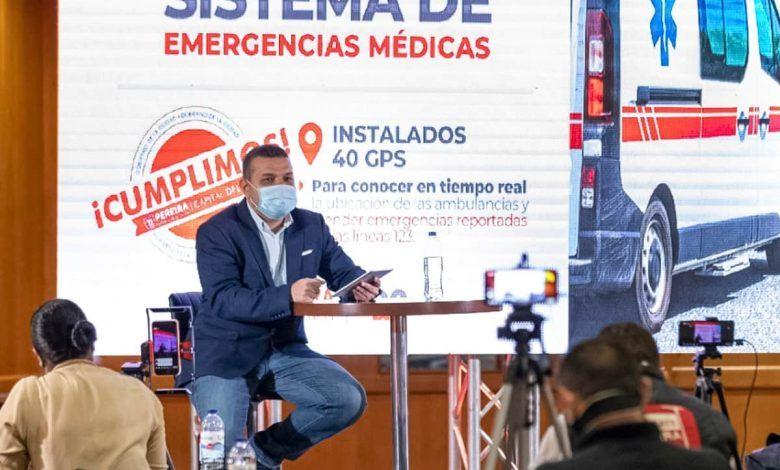 """""""La pandemia no nos detiene"""": Alcalde de Pereira"""